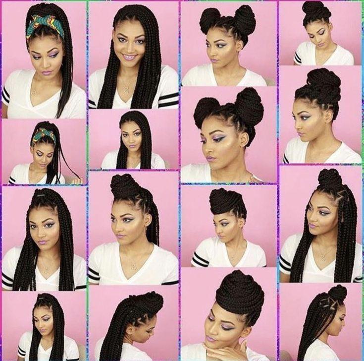 Naturalhair On Instagram Gorg Teresa Sousa 100 Teamnatural Longhai In 2020 Braided Hairstyles Updo Box Braids Hairstyles Box Braids Hairstyles For Black Women