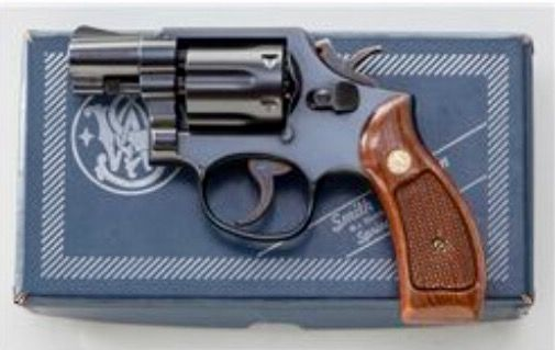 Smith & Wesson Double Action Five Shot J- Frame .38 Special