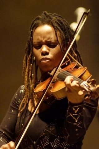 Regina Carter is an American jazz violinist.