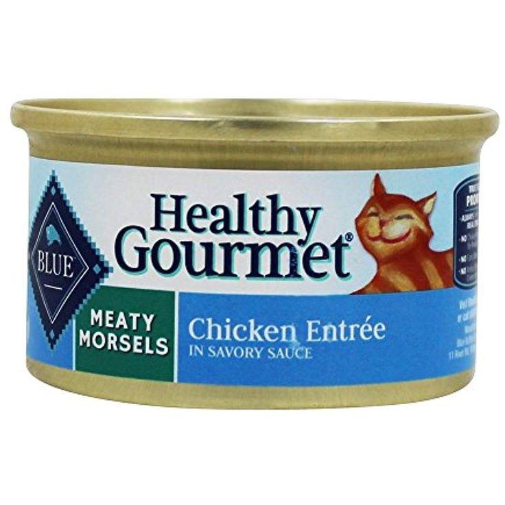 Blue buffalo meaty morsels cat food chicken 3 oz 1