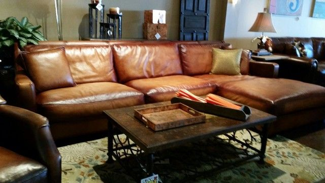 Latest Rustic Sectional Sofas With Chaise Rustic Leather Sectional Sofa  Facil Furniture