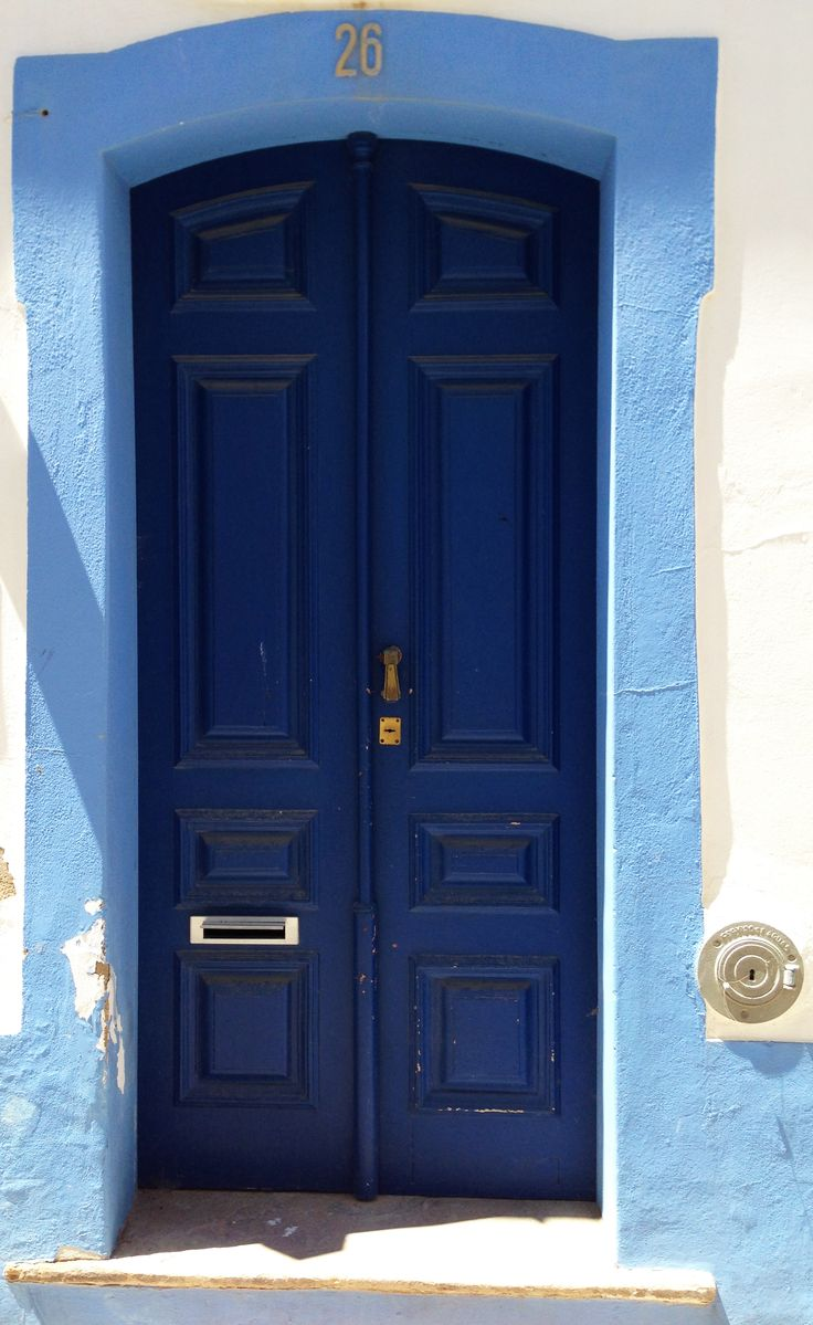 Blue door, Lagos Portugal | Doors ⼾ | Pinterest | Midnight ...