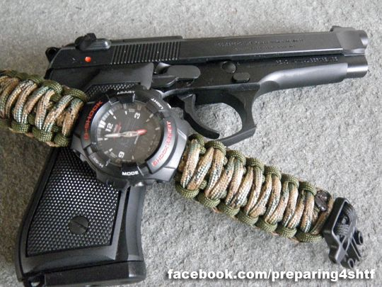 How to Make a Paracord Watch Band - Preparing For SHTF