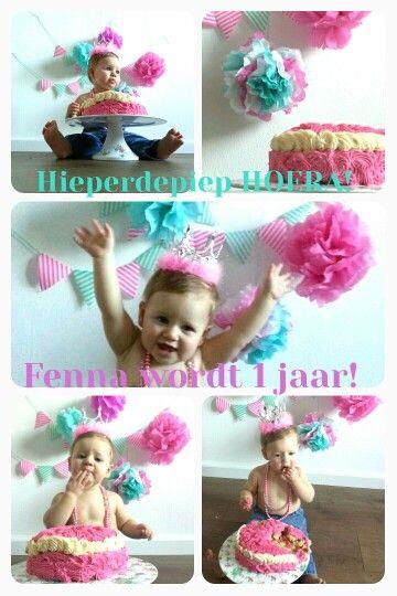 Cake Smash Eerste Verjaardag Birthday Birthday Party En Baby