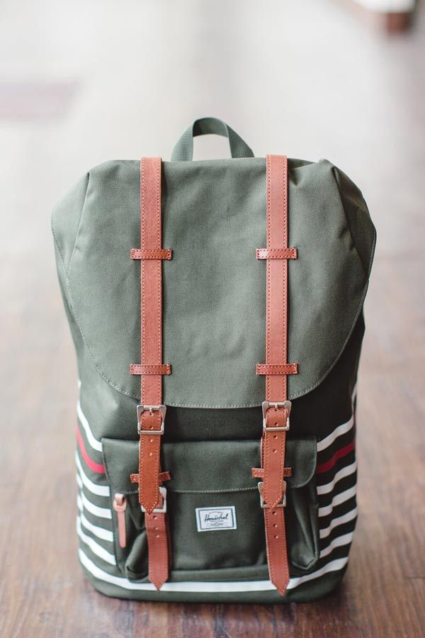 Herschel Lil America Backpack {Offset Forest}