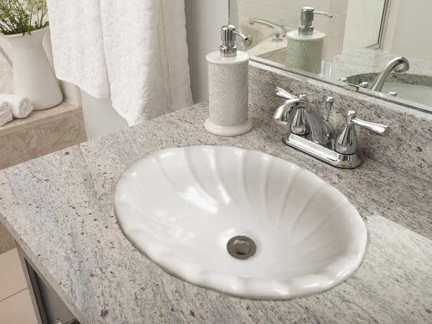 Self rimming (drop-in) and undermount bathroom sinks by Barclay