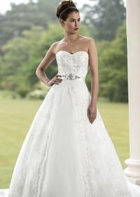 Contemporary Wedding Dresses and Vintage Inspired Bridal Gowns | W128 | True Bride