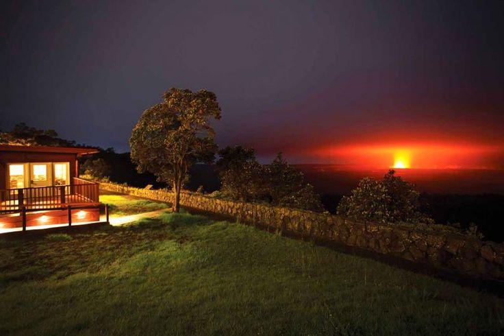 Sleep on the rim of an active volcano at Volcano House   HAWAII Magazine