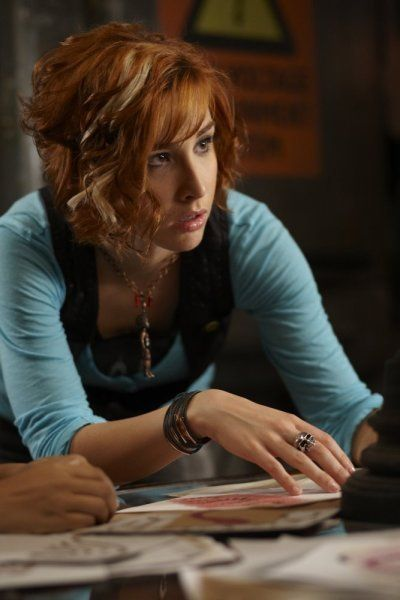 Allison Scagliotti as Claudia Donovan; Warehouse 13