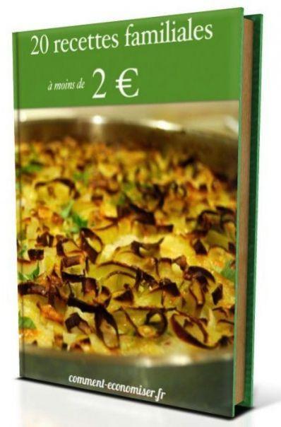 Livre de cuisine gratuit télécharger 20 recettes familiales à moins de 2 euros