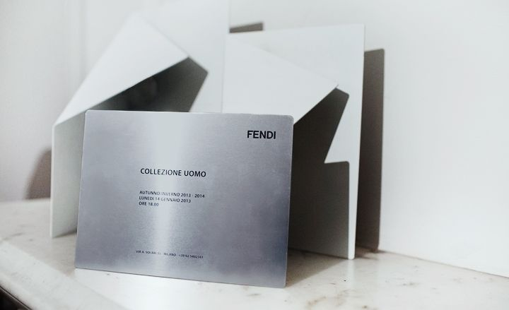 Fashion week A/W 2013 invitations: menswear collections