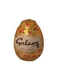 £0.39 - Galaxy Chocolate Caramel Egg 38g  Galaxy Chocolate egg with a Caramel Centre