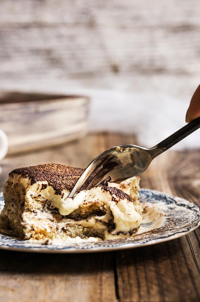 Classic Italian tiramisu - possibly the best tiramisu you'll ever taste - it's so luscious, soft and airy, with the perfect balance of bitter and sweet.   www.viktoriastable.com
