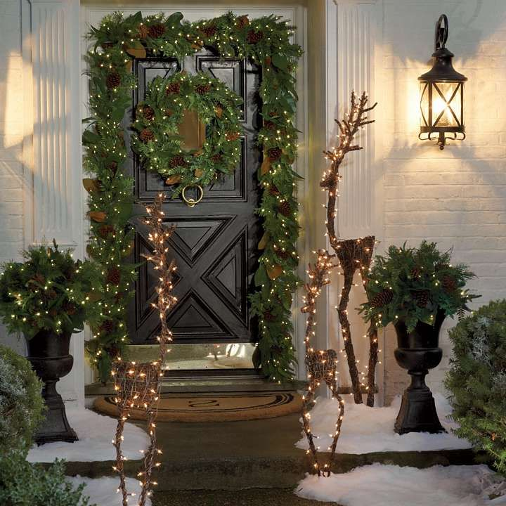 73 best decorate your chalet for the holidays images on pinterest cordless amesbury outdoor greenery collection christmas lightschristmas aloadofball Gallery