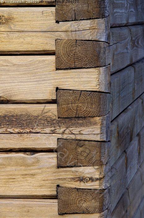 wood wall corner
