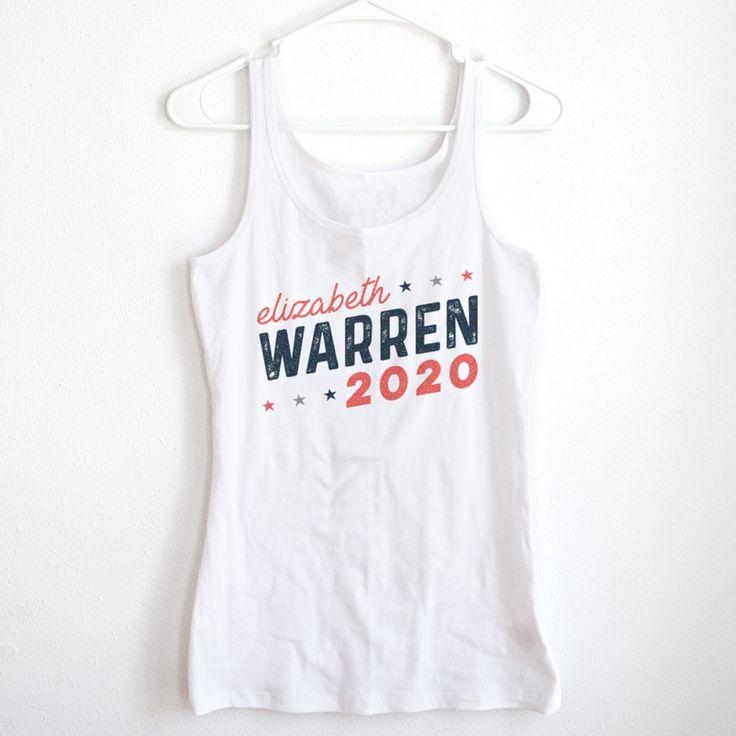 Copy of Elizabeth Warren for President 2020 Ladies' Tank