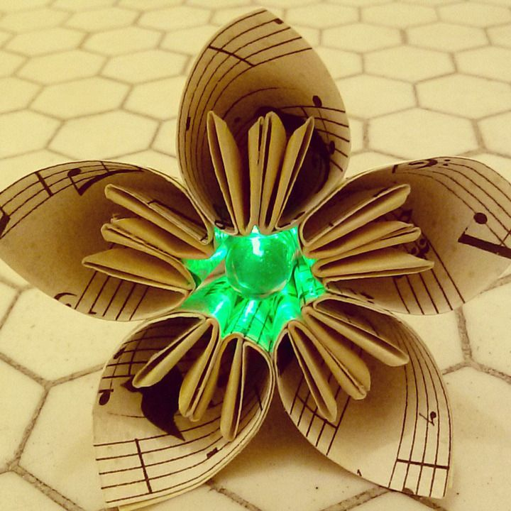 17 best images about origami with lights on pinterest