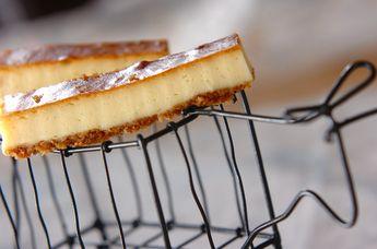 スティック状が可愛く、食べやすいケーキです。しっとり、あっさりしたお味で、いくらでも食べられちゃいそう!?
