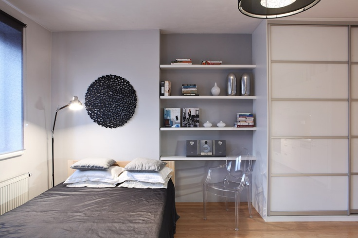 One room living for a young busy lady - designed by Andrea Hylmarova