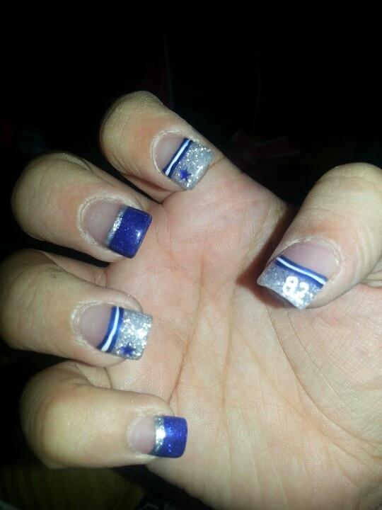 67 best dallas cowboys nail art images on pinterest beauty nails cowboy nail design prinsesfo Choice Image