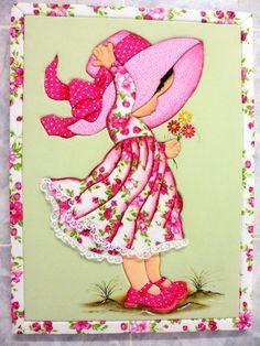 Quadro em patchwork embutido ou patchwork sem agulha!