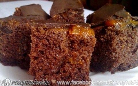 Mézeskalácsos sütemény recept fotóval