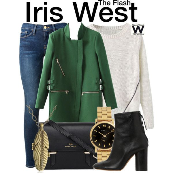Inspired by Candice Patton as Iris West on The Flash.