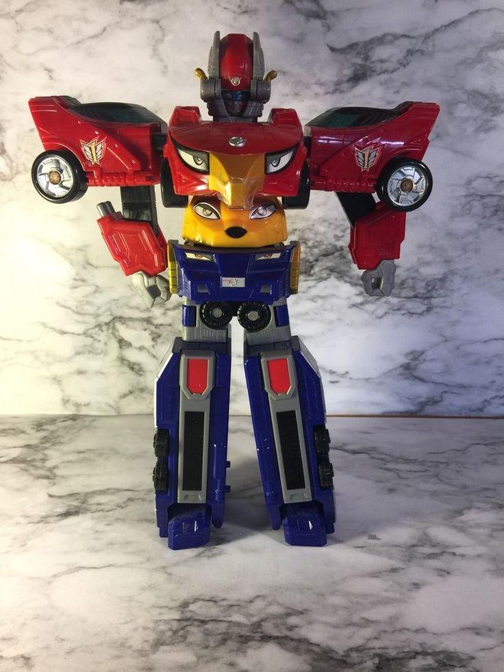 Power Rangers RPM High Octane Megazord action figure 3 Zords Transformer  | eBay