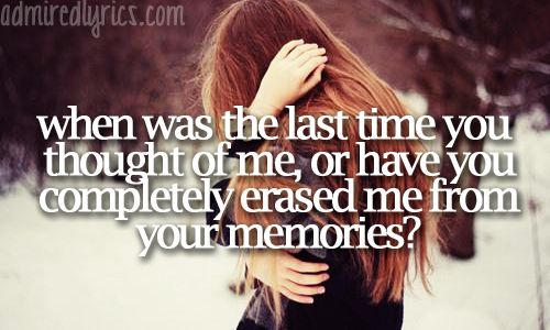 Dont you remember the reason you love me before?.. And the reason you left me now..?