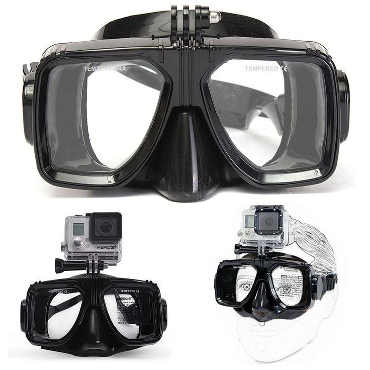 RD Scuba, Diver, Snorkel, Diving Goggles