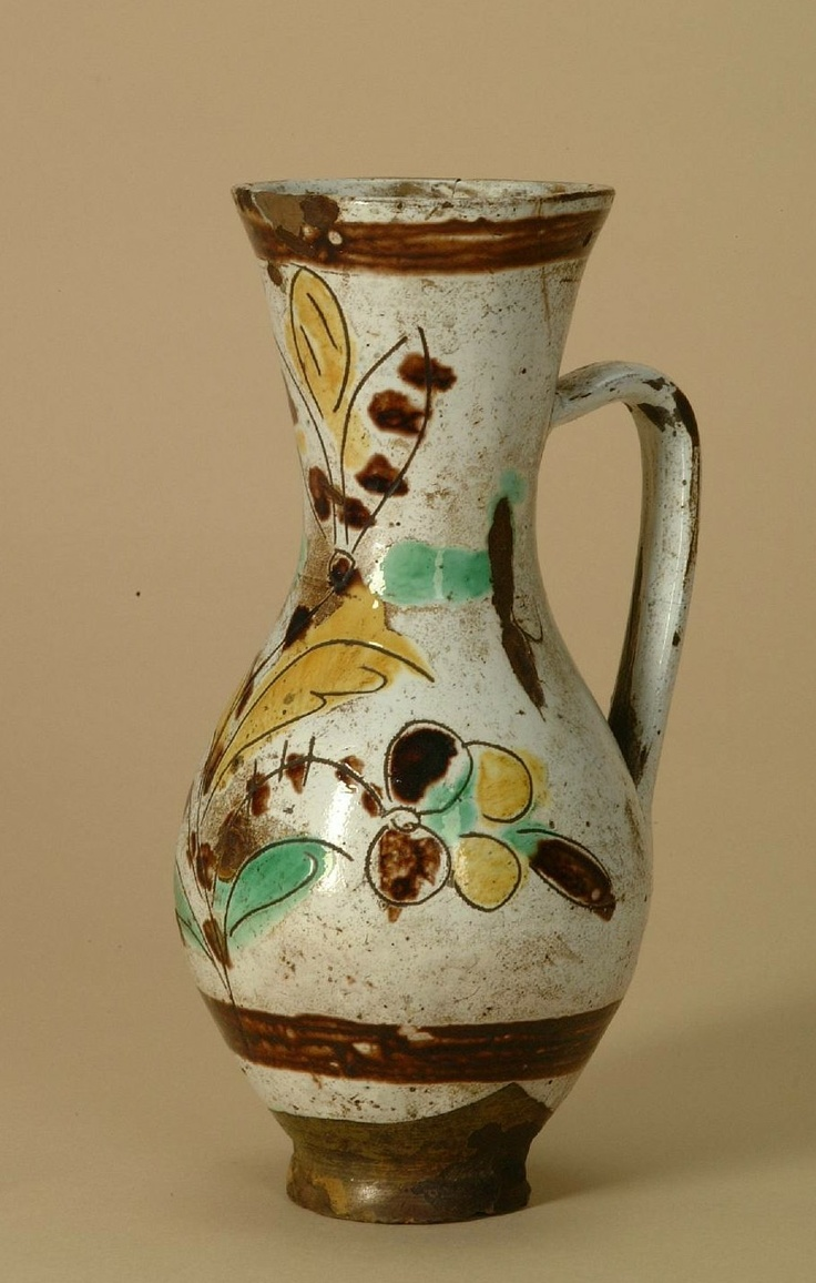 Hungarian jug from Kézdivásárhely/Sekler-Neumarkt/Târgu Secuiesc, Transylvania (Szeklerland). Museum of Ethnography, Budapest (NM 133552)