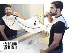 Geschenke für Männer - Beard Bib - Rasur Haarfänger, Damit wird die Bartpflege zum reinen Vergnügen!