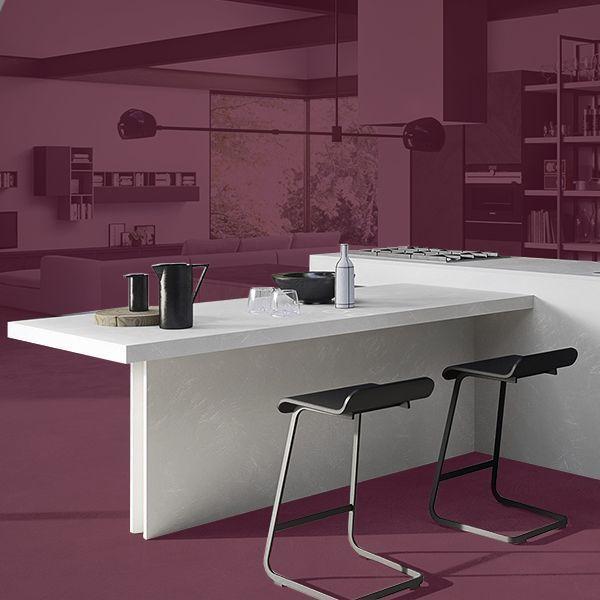 Cocinas modernas marca PEDINI Italia linea New Kitchen Concept: soluciones funcionales para cocinas abiertas de calidad.
