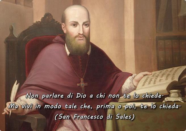 #SanFrancescodiSales #Dio #Chiesa #cristianesimo