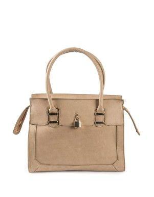 Lock Trim Tote Bag | Woolworths.co.za