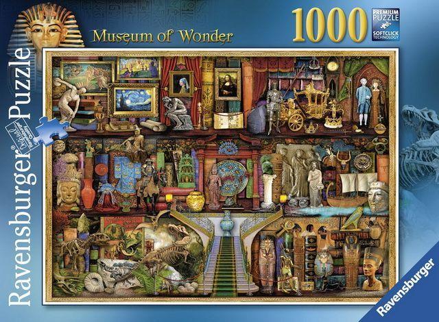 Ravensburger Puzzle 1000pc - Museum Of Wonder