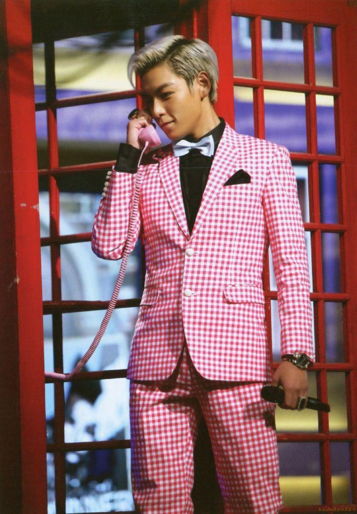 Big Bang TOP No matter what he wears...he is just :)