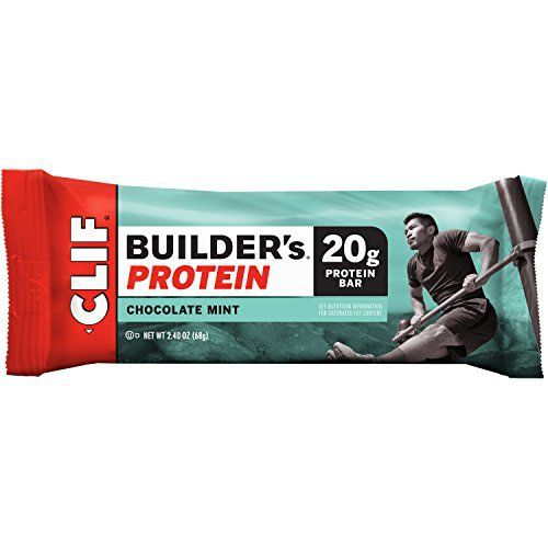 CLIF BUILDER'S - Protein Bar - Chocolate Mint (2.4 Ounce Bar, 12 Count) //Price: $15.98 & FREE Shipping //     #hashtag2