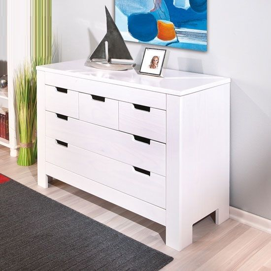 Balthasar Chest Of Drawers In White