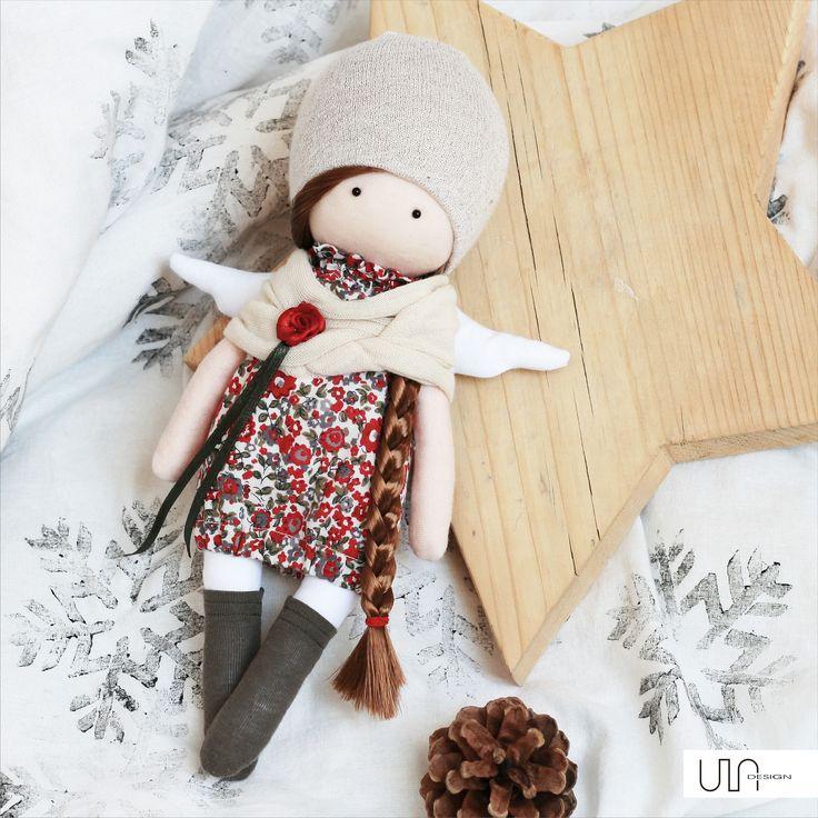 lalka szyta  aniołek, ULAdesign