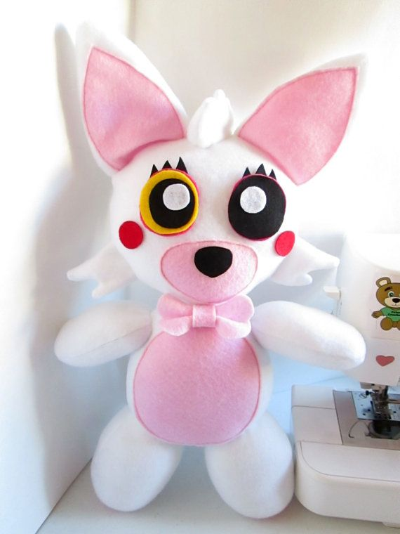 Mangle Plush Inspired by Five Nights at Freddy's (Unofficial) FNAF ~ Toy Foxy