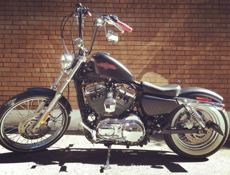 Harley-Davidson, 72, Seventy-two, sportster, bobber, 1200,