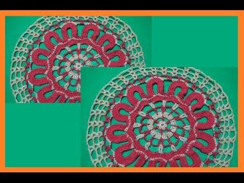 TEJE MANDALA HUATULCO - Crochet Fácil y Rápido - YouTube