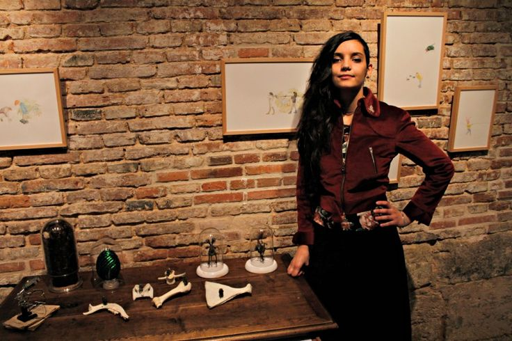 La Gran exhibe el bestiario fabuloso de Laura Salguero en La Atómica   NEX