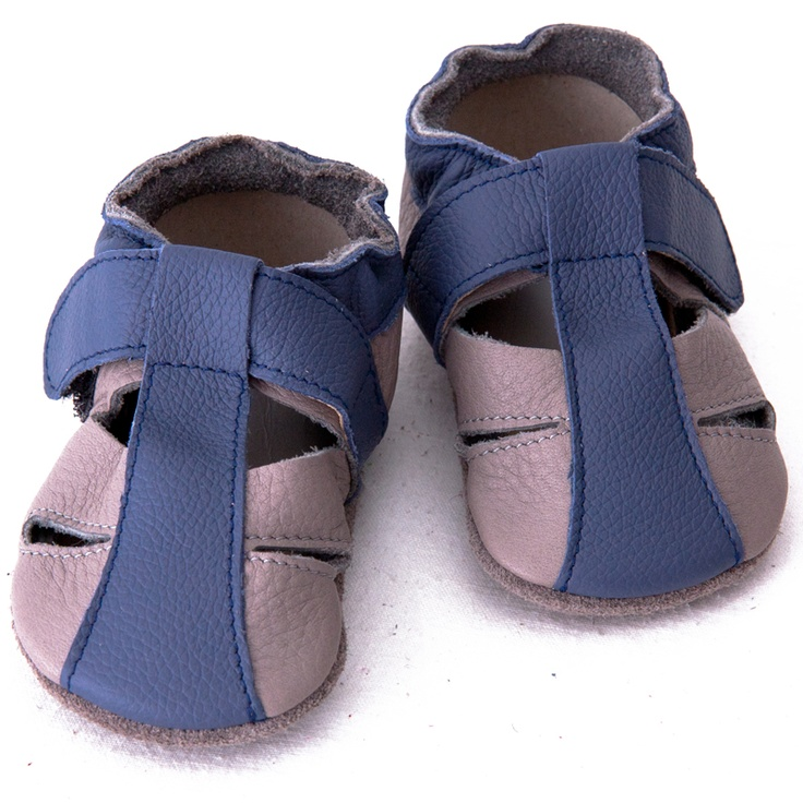 Liliputi® Soft Baby Sandals Atacama Grey  #soft #liliputi #babysandals