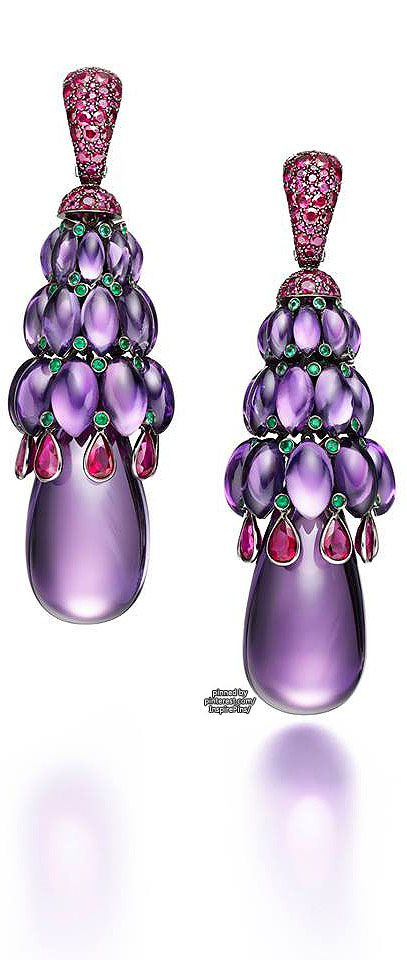 TIG's picks: De Grisogono ~ Melody of Colors (amethyst and rubies)