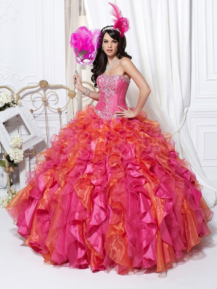 Mejores 98 imágenes de Vestidos 15 Años en Pinterest   Vestidos de ...