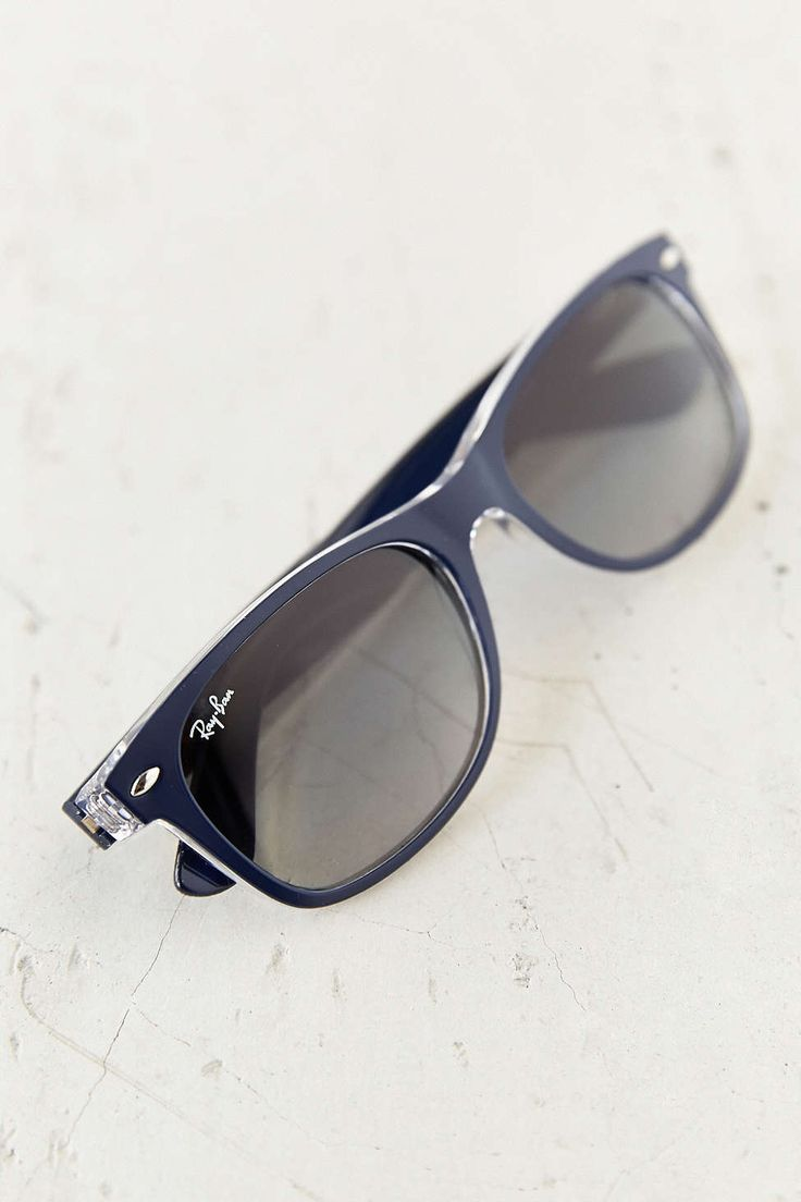 Ray-Ban Matte Blue New Wayfarer Sunglasses
