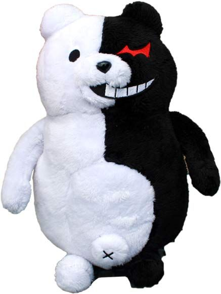 Monokuma Plush ~ Danganronpa 2 $22.00 http://thingsfromjapan.net/monokuma-plush-danganronpa-2/ #monokuma plush #danganronpa #anime plush