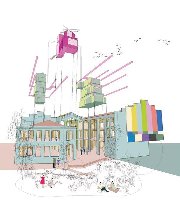 Madrid. 2007-  Rehabilitación y acondicionamiento de las Serrerías Belgas para la sede del centro Medialab/Prado  autores: langarita–navarro arquitectos